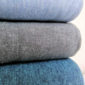 Essex Yarn Dyed Linen Shale Slate Mint Robert Kaufman Stofftraeume4you position