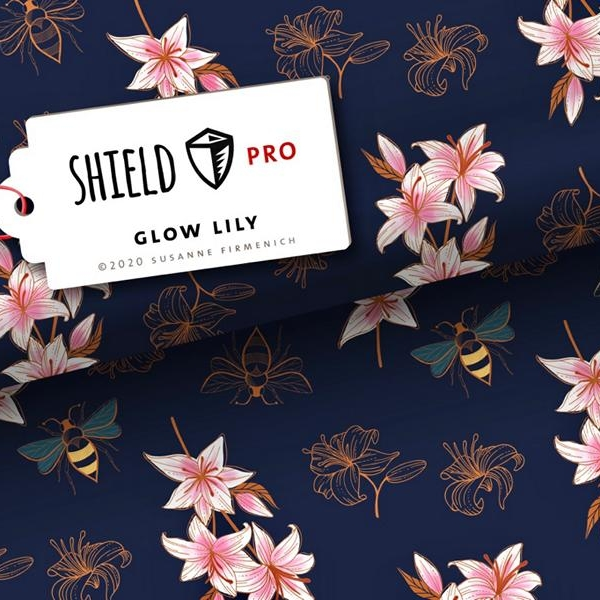 Shield Pro Glow Lily Stofftraeume4you Albstoffe Hamburger Liebe