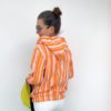 Pin Stripes BLOOM Hamburger Liebe ALBSTOFFE Sweater Anlukaa Stofftraeume4you Rueckansicht