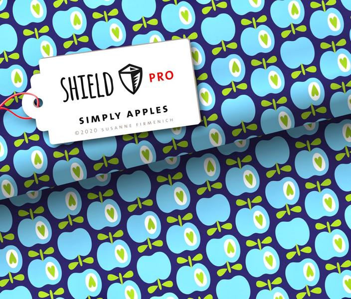 Shield Simply Apples Stofftraeume4you ALbstoffe Hamburger Liebe
