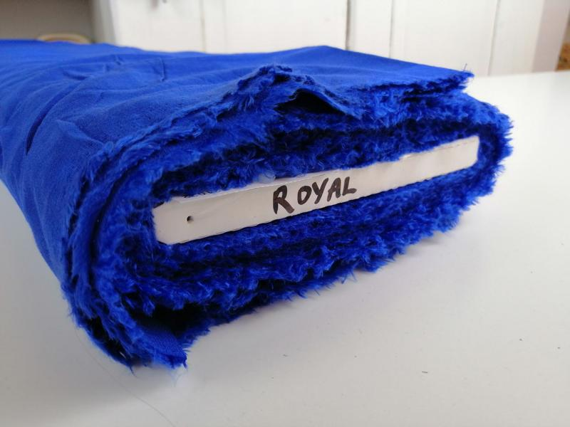Viskose Twill LAUREN Royal Stofftraeume4you Webkante