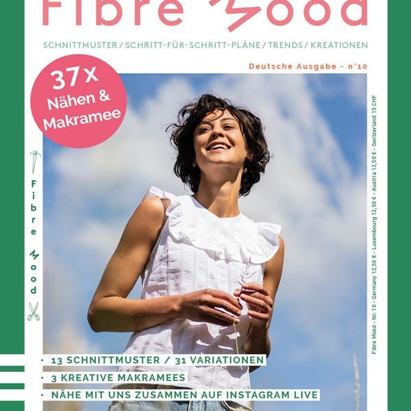 Fiber Mood Magazine Issue 10 Stofftraeume4you Cover