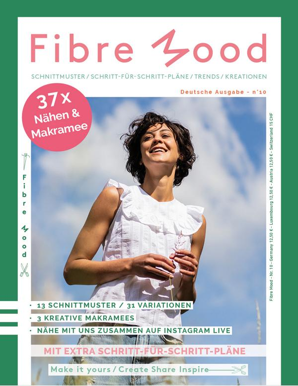 Fibre Mood Magazin Ausgabe 10 Stofftraeume4you Cover