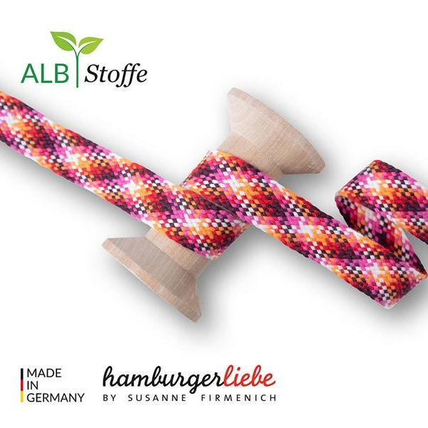 Twist Me Check Col.2 Hamburger Liebe Albstoffe Stofftraeume4you