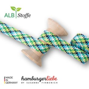 Twist Me Check Col.3 Hamburger Liebe Albstoffe Stofftraeume4you