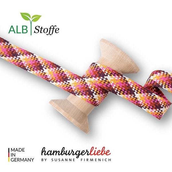 Twist Me Check Col. 4 Hamburger Liebe Albstoffe Stofftraeume4you