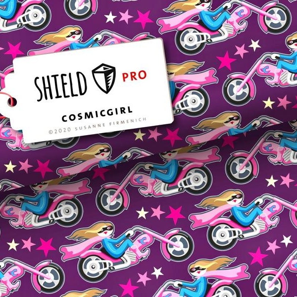 Shield Pro Cosmicgirl Lilal Hamburger Liebe Stofftraeume4you Albstoffe