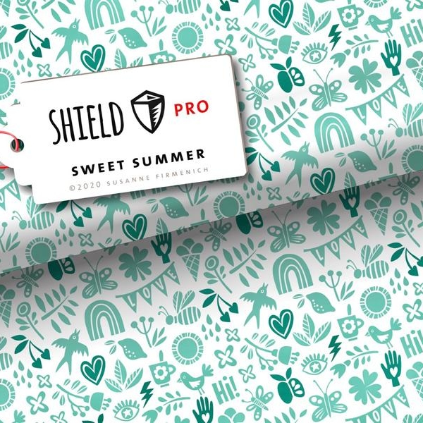 Shield Pro Sweet Summer Hamburger Liebe Stofftraeume4you Albstoffe