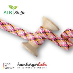 Twist Me Check 06 Hamburger Liebe Stofftraeume4you Albstoffe