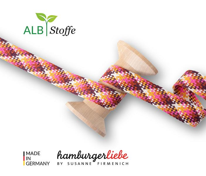 Twist Me Check 08 Hamburger Liebe Stofftraeume4you Albstoffe