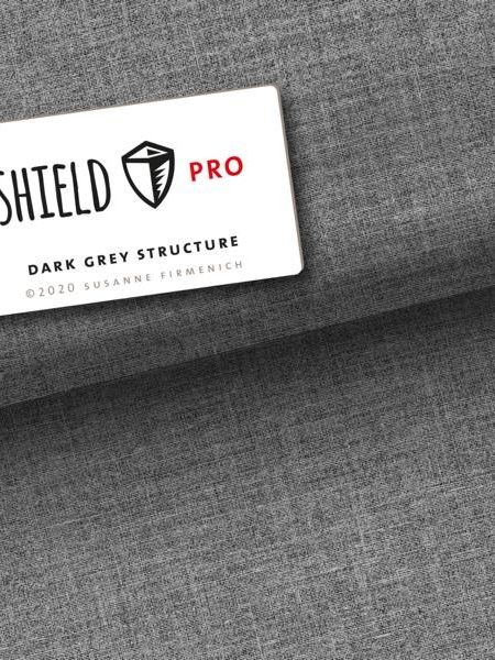 Shield Dark Grey Hamburger Liebe Albstoffe Stofftraeume4you