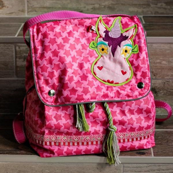 Staaars Swafing color mix Stofftraeume4you backpack Hope PINK