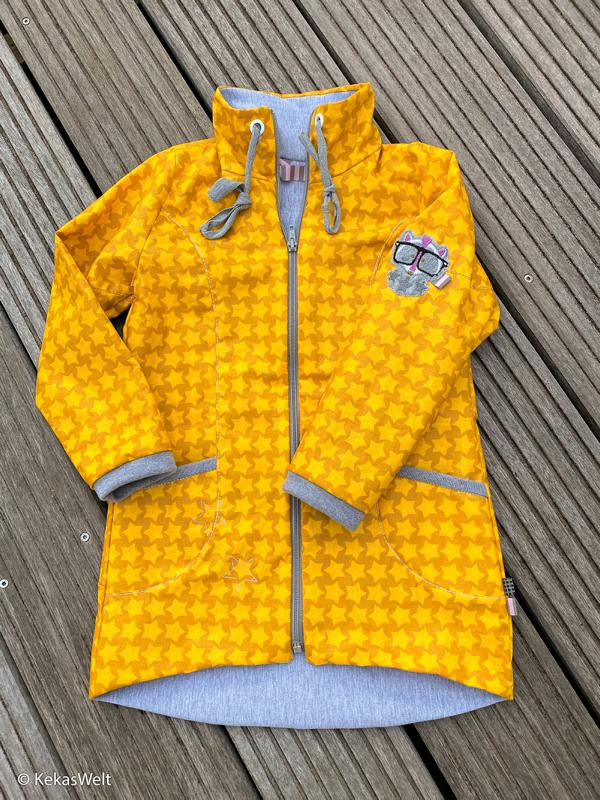 Staaars Swafing color mix Stofftraeume4you mustard jacket 1