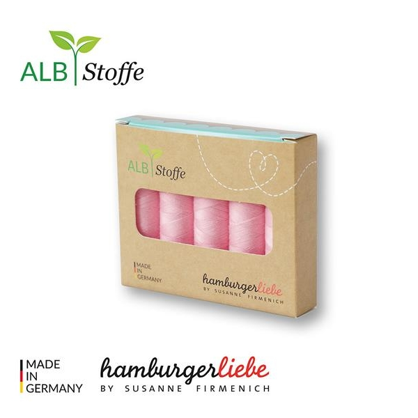 Yarn box 5 packshot pink Scuro Hamnburger Liebe Albstoffe Stofftraeume4you
