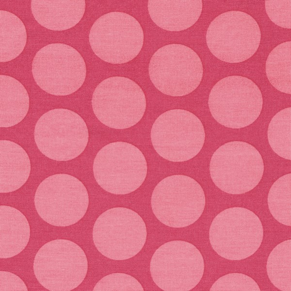 Oilcloth Superdots Rasperry Peach Pin 900-140-041-547-1 Au Maison Stofftraeume4you