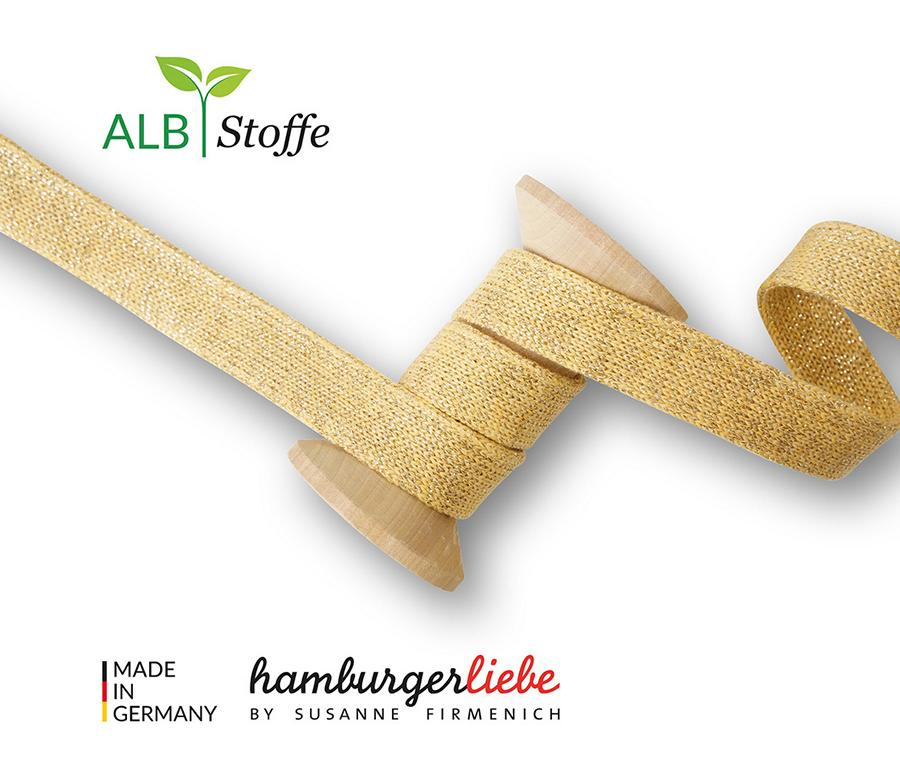 Cord Me Shine A38 COLZA GOLD Hamburger Liebe Albstoffe Stofftraeume4you