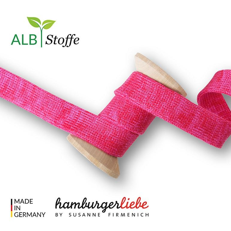 Cord Me Shine A63-55 RED ORTENSIA Hamburger Liebe Albstoffe Stofftraeume4you