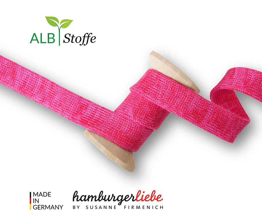 Cord Me Shine A63-55 ROT ORTENSIA Hamburger Liebe Albstoffe Stofftraeume4you