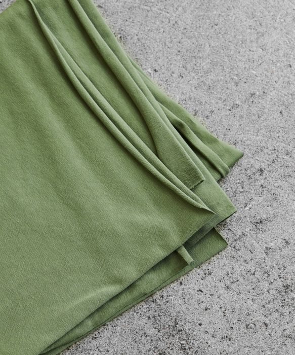 Organic Stretch-Jersey Mind the Maker Stoffträume4you Olive