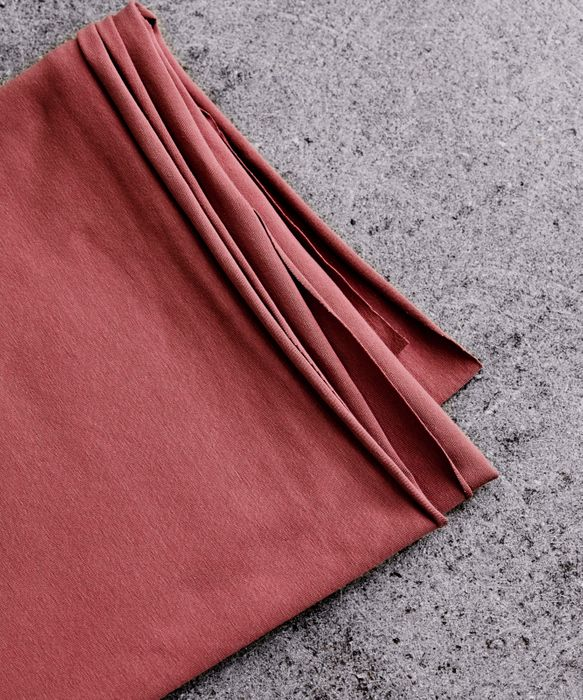 Organic Stretch-Jersey Mind the Maker Stoffträume4you Rosewood
