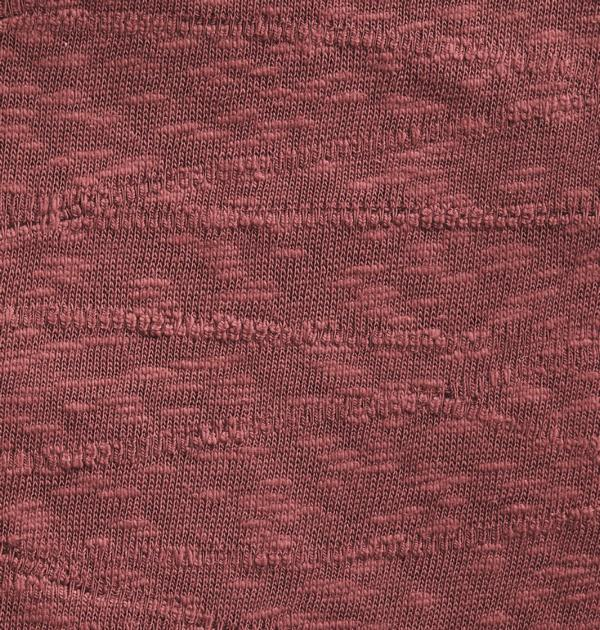 Organic Slub Jacquard Rosewood Detai Mind the Maker Stoffträume4you