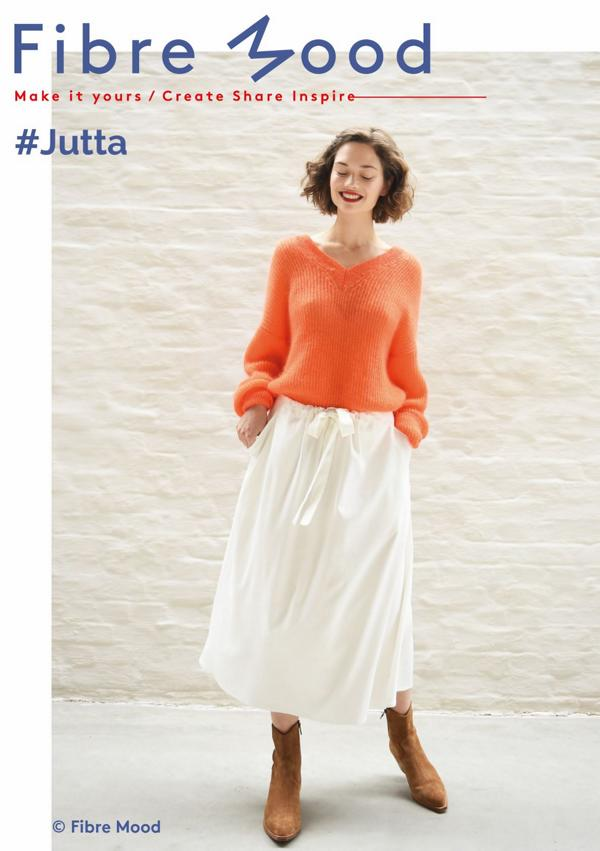 Sewing pattern paper JUTTA skirt women Fiber Mood Stofftraeume4you cover