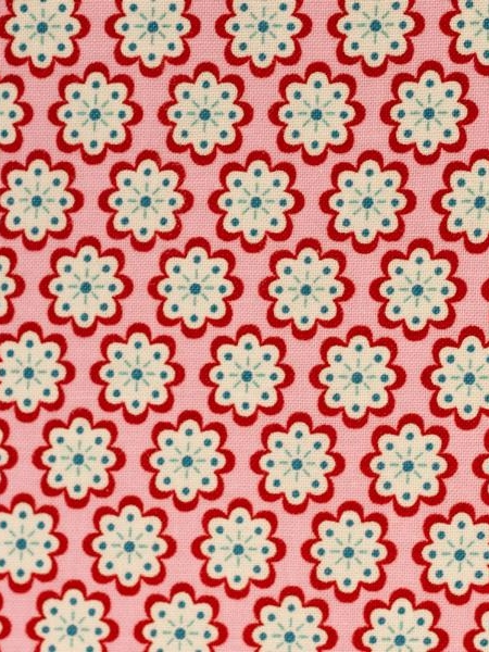 Cotton Julia Blossoms Red-Pink Swafing Stoffträume4you 081437-400432 start