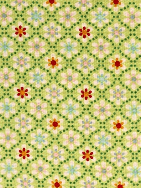 Cotton Julia Small Flowers Kiwi Green Swafing Stoffträume4you 081437-200602 start