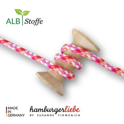Twist Me BIG MIX Col.18 Sakura Hamburger Liebe Albstoffe Stoffträume4you 502H140