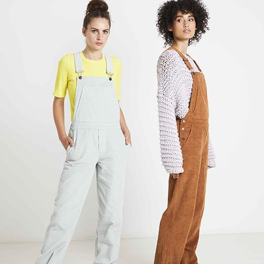 Constance dungarees paper pattern Fiber Mood Cord 5