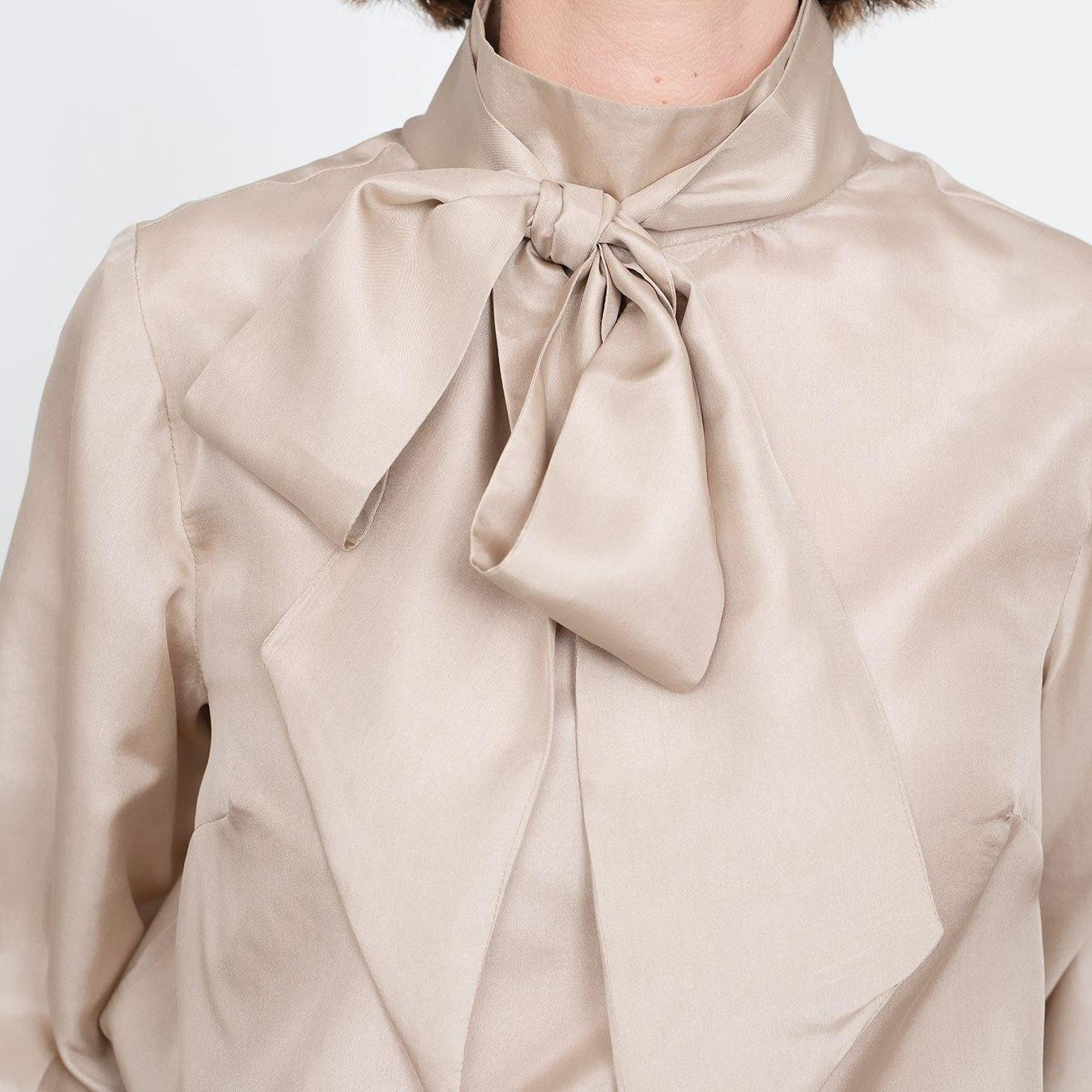 THE TIE BOW BLOUSE The assembly line TAL Stoffdream4you NEAR